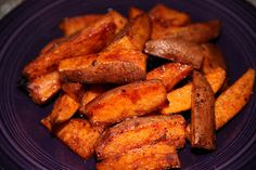 Recipe: Sweet and Spicy Sweet Potato Wedges!
