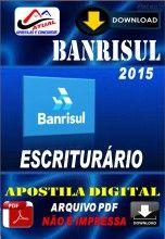 Apostila Digital Concurso Banrisul Escriturario 2015