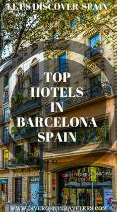Top hotels in Barcelona, Spain. We have put together some of the best hotels in Barcelona based off: Top luxury hotels we recommend in Barcelona, Spain. Top mid-range hotels we recommend in Barcelona. Top budget hotels we recommend in Barcelona and Top hostels we recommend in Barcelona. Click to see Where to Stay in Barcelona, Spain. #Spain #Barcelona #Guide #Hotel