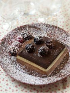 Recette de Mousse glacée aux 3 chocolats