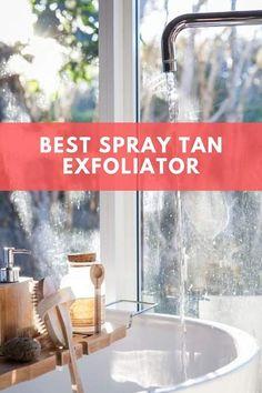 Best Spray Tan Exfoliator: Prep Your Luscious Canvas! Spray Tan Prep, Spray Tan Tips, Face Care Tips, Skin Care Tips, Best Exfoliators, Exfoliating Scrub, How To Exfoliate Skin, Ingrown Hair, Smooth Skin