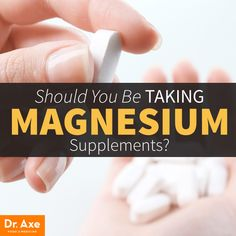 Should you be taking Magnesium?  http://www.draxe.com #health #holistic #natural