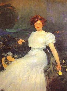 RAMON CASAS 1866-1932 España. Pintor y diseñador gráfico, célebre por sus retratos y caricaturas, sus carteles y postales. Se le clasifica entre el estilo académico y el impresionista francés, conocido en España como 'Modernismo'.