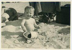 "Vintage Photo ""Beach Fun"", Photography, Paper Ephemera, Snapshot, Old Photo, Collectibles"