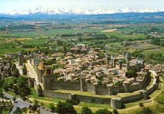 Double walled city of Carcassonne, Southern France