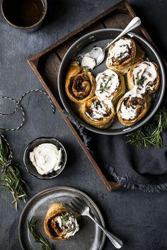 Date Carmel Pastry Rolls