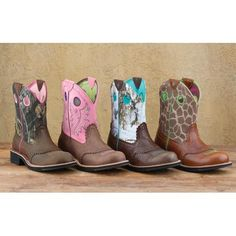 Ariat Crinkle Camo Fatbaby Cowgirl Boot - Round Toe. darn list of
