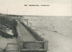The Promenade, Parkdale, 1955 Young Farmers, Old Port, Melbourne Victoria, Old Photos, Beaches, Vietnam, Tower, Scene, Australia