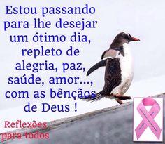 """Bom dia! Conheça e participe da campanha """"OUTUBRO ROSA"""" (contra o câncer de mama)."""