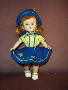 c.1954 PL, SLW Ginny in Whiz Kid #671 outfit