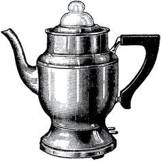 Vintage Coffee Pot Image