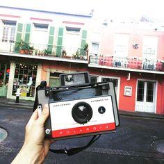 Morning from NOLA#nola #frenchquarter #travel #adventure #photographer #roadtrip #summer #neworleans #film #filmisnotdead #makeportraits #believeinfilm #staybrokeshootfilm #polaroid #fujifilm #fuji #fp100c by amyrichmondphotos