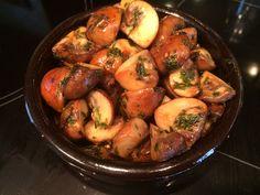 Lekker eten met Marlon: Knoflook champignons