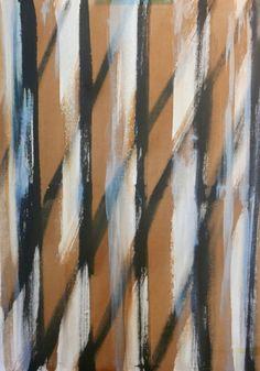 transparences et conversations (Peinture),  50x70x1,5 cm par Maï Laffargue on…