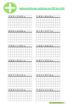 kostenloses arbeitsblatt 3 klasse mathematik subtraktion kostenlose arbeitsbl tter. Black Bedroom Furniture Sets. Home Design Ideas