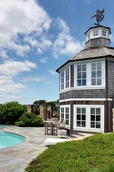Cape Cod Home - beach style - exterior - boston - Chelle Design Group