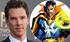 Benedict Cumberbatch beefing up to play Marvel hero Doctor Strange