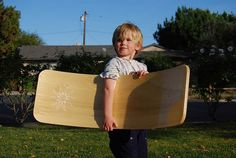 beautiful amazing toy ~ curvy boards  (+small made in the USA business!)