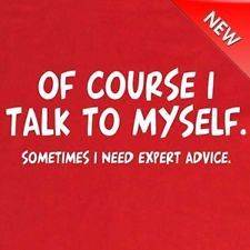 FUNNY TSHIRT Talk To Myself Expert Advise 60th Birthday Gifts Decorations Cake