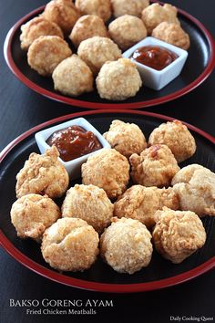 Bakso Goreng Ayam - Fried Chicken Meatballs