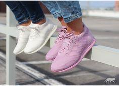 adidas originals los angeles blush pink trainers