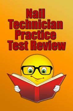Nail Technician Practice Test Review #nailtech