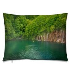 Luxury cushion Plitvice. Size 55 cm x40cm. Luxury Cushions, Animal Decor, River, Wall Art, Outdoor, Outdoors, Outdoor Games, Outdoor Living, Rivers