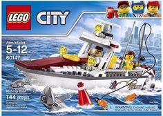 New LEGO City Great Vehicles Fishing Boat #Lego
