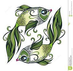 fotos del signo del zodiaco piscis - Buscar con Google