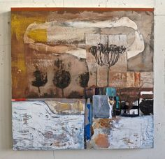 #Benicia artist Mark Eanes, Mixed media, Inspirations of Southern Italy. Color and texture. Benicia, Ca www.markeanes.com