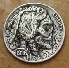 OBSESSED!  Hobo Nickel Engraved By John Schipp