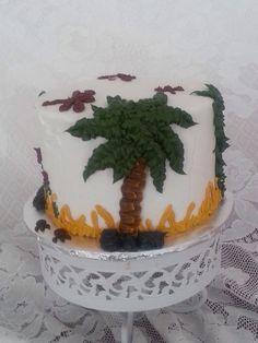 Prehistoric smash cake