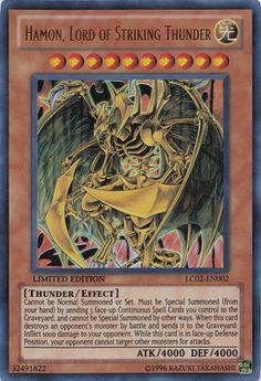 Hamon, Lord of Striking Thunder Yu-gi-oh! TCG Effect Monster