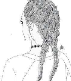 Tumblr, noir, blanc, dessin - image #4259184 par helena888 sur ...