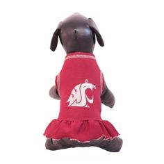 NCAA Washington State Cougars Cheerleader Dog Dress (Team Color, Small) -- To view further for this article, visit the image link.