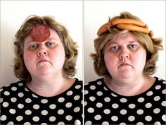 Artist Iiu Susiraja creates photographic self-portraits Weirdest Self Photos Ever