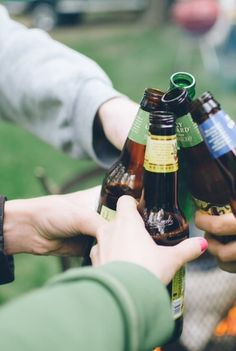 Have beers with friends.