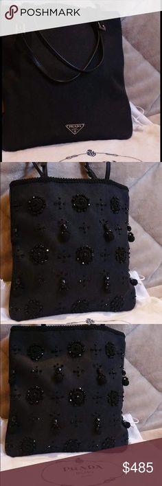 Prada beaded handbag authentic and brand new The title says it all. Prada Bags