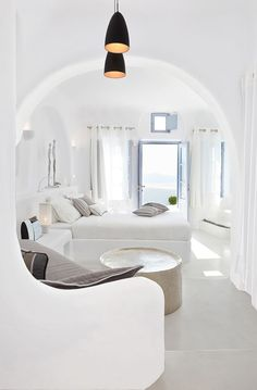 Dana Villas, Santorini, Honeymoon Villa, Guestroom