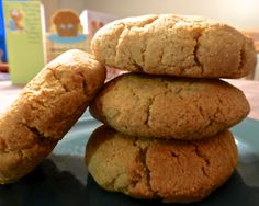 Pure and Simple Nourishment : Honey Vanilla Scones (SCD, Paleo, Egg free, Dairy free)