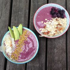 I discovered acai bowls during my time in Brazil. So refreshing (if not particularly low cal)!