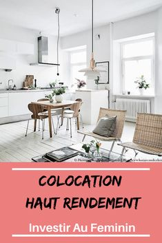 Colocation: High Performance Strategy - All About Value Investing, Investing Money, Real Estate Investing, Real Estate Rentals, Budgeting Finances, Business Planning, Earn Money, Home Decor, Location Meublée