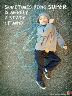 Sometimes being SUPER is merely a state of mind. #mind