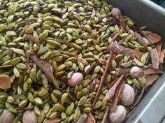 Cardamom, cinnamon, nutmeg, cloves... tastes like fall!