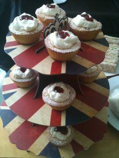 Queen Victoria cupcakes