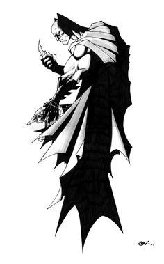 BATMAN tatoo by scribblebri