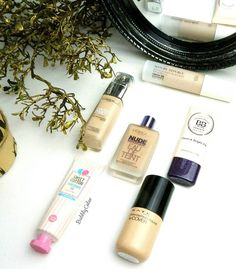 """""""These are my favorite #foundations at the moment ❤ What's yours?  #bbloggers #beauty #beautyblogger #ibloggers #foundation #bbcream #liquidfoundation…"""""""