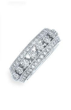 LOVE IT!!! Kwiat 'Stardust' 18k White Gold & Diamond Ring available at #Nordstrom