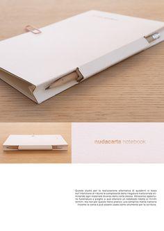 nudacarta notebook on Behance