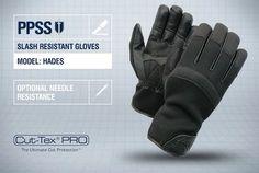 PPSS #SlashResistantGloves (Hades) with optional #needleresistance